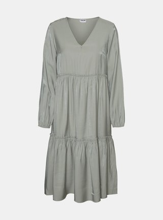 Šedé šaty Noisy May Cora