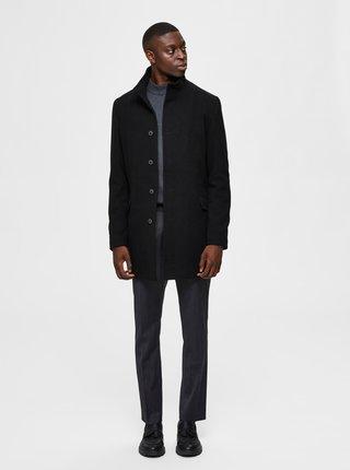 Čierny kabát Selected Homme