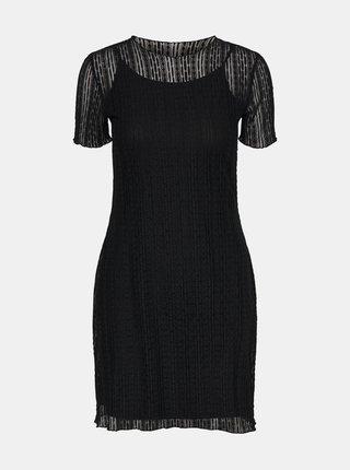Čierne šaty Noisy May Miles