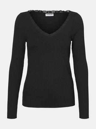 Černé tričko Noisy May Owen