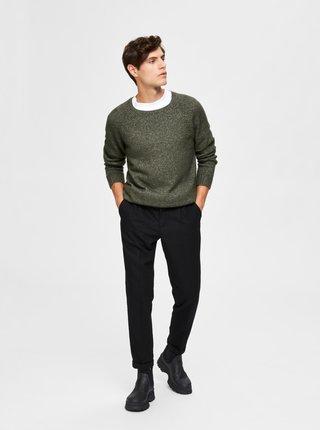 Kaki sveter Selected Homme