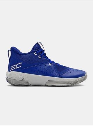 Topánky Under Armour SC 3ZER0 IV - modrá