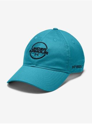 Kšiltovka Under Armour Spieth Washed Cotton Cap - modrá