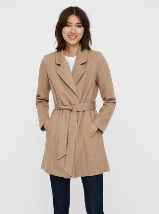 Béžový kabát VERO MODA Verodona