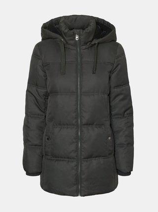 Šedá zimní prošívaná bunda VERO MODA Neat