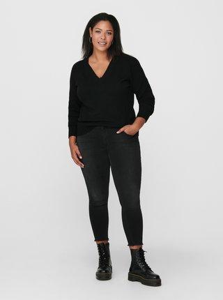 Čierny sveter ONLY CARMAKOMA