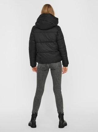Černá prošívaná zimní bunda VERO MODA Upsala