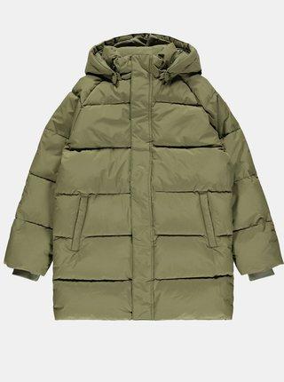 Kaki dievčenská zimná prešívaná bunda name it