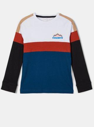 Bílo-modré klučičí tričko name it