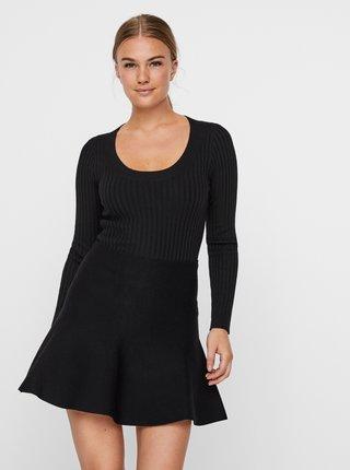 Čierny sveter AWARE by VERO MODA Maci