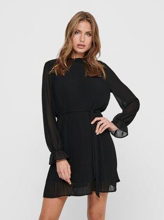 Černé šaty se stojáčkem Jacqueline de Yong