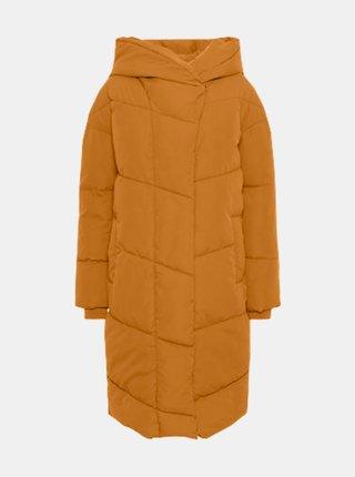 Oranžový zimní kabát Noisy May Hattie