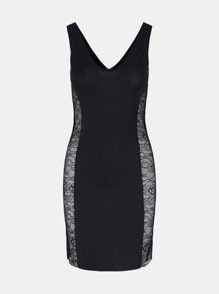 Čierne tvarovacie šaty Pieces Ella
