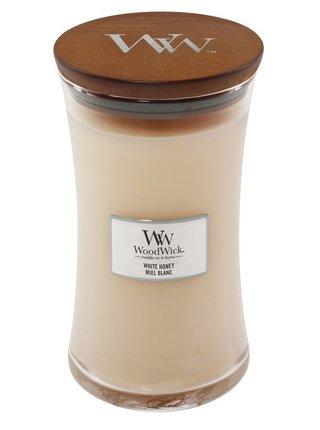 WoodWick vonná svíčka White Honey velká váza