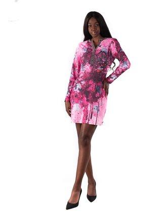 Culito from Spain růžové šaty Bali