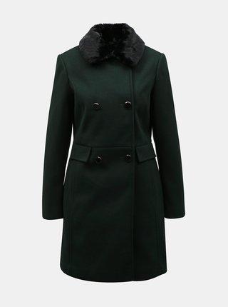 Zelený kabát Dorothy Perkins
