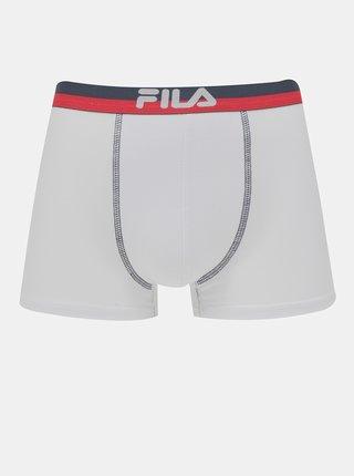 Sada dvou bílých boxerek FILA