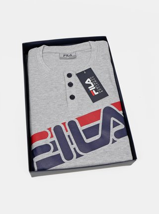 Modro-šedé pánske pyžamo FILA