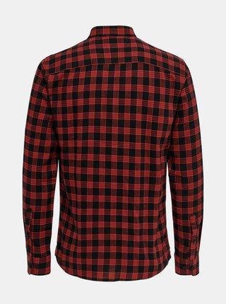 Červená flanelová košile ONLY & SONS