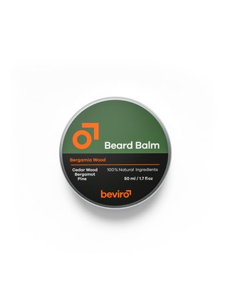 Beviro Balzám na vousy Bergamia Wood - 50 ml