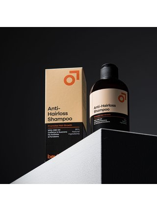 Beviro Přírodní šampon Proti padání vlasů - 250 ml