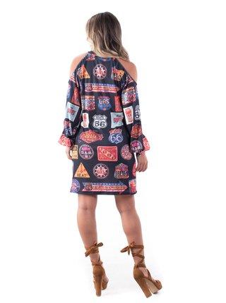 Culito from Spain barevné šaty Route 66