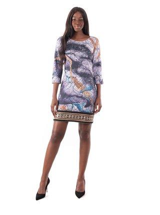 Culito from Spain vzorované šaty s výšivkou Fusión
