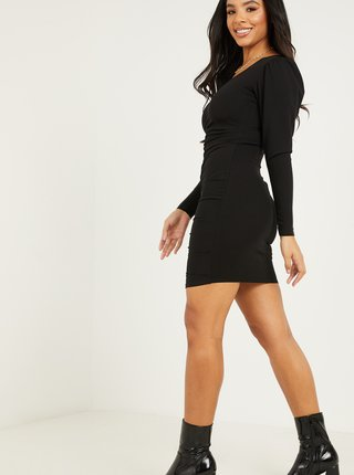 Černé pouzdrové šaty QUIZ