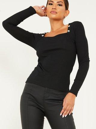 Čierne tričko QUIZ