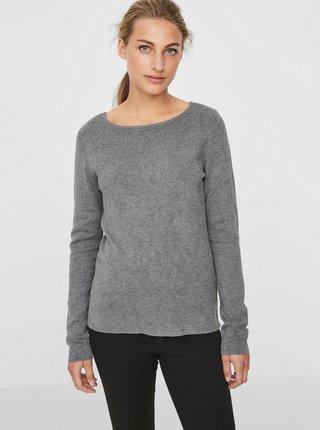 Šedý sveter VERO MODA