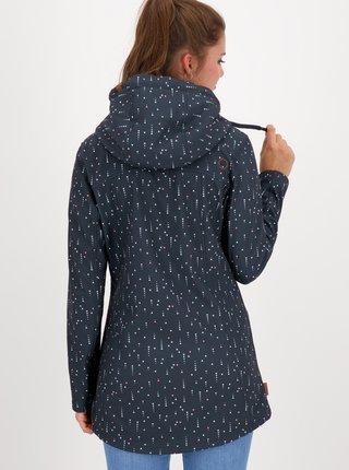 Tmavomodrá dámska vzorovaná bunda Alife and Kickin