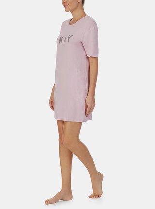 Ružová nočná košeľa DKNY