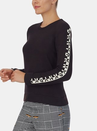 Čierne tričko DKNY