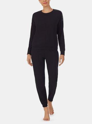 Čierne pyžamo DKNY