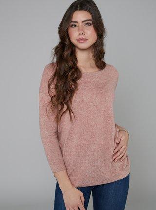 Růžový svetr Hailys