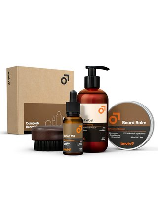 Beviro Větší dárková sada na vousy Cinnamon Season