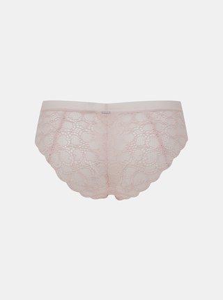 Ružové krajkové nohavičky DKNY
