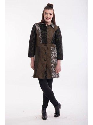 Orientique kabát Coat Collared Olive