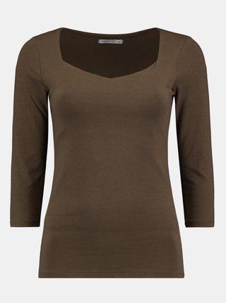 Hnedé tričko Hailys