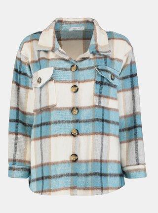 Modro-krémová kostkovaná košile Hailys