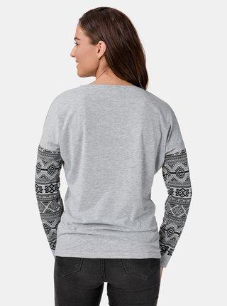 Šedé dámské tričko SAM 73 Beatrice