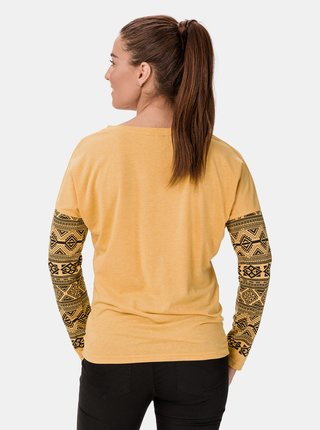 Žluté dámské tričko SAM 73 Beatrice