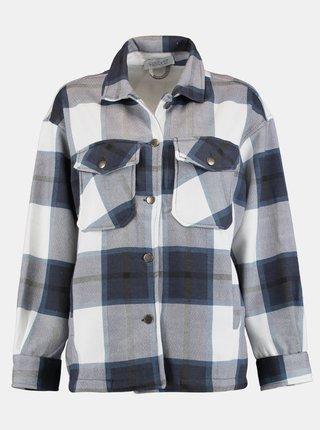 Modro-šedá kostkovaná košile Hailys