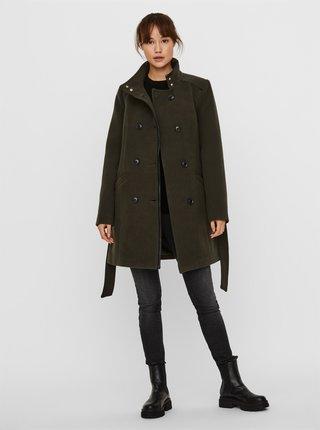 Khaki kabát VERO MODA Calaveronica