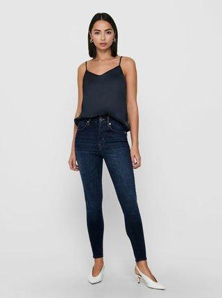Modré skinny fit džíny ONLY Becks