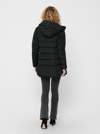 Černý zimní kabát ONLY Lina