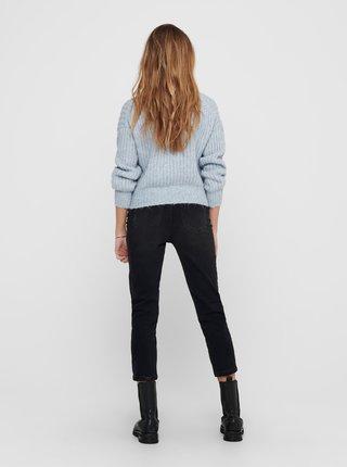 Modrý sveter ONLY New Chunky