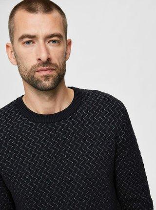 Čierny sveter Selected Homme