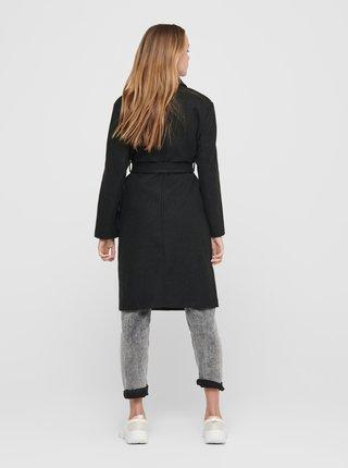 Tmavě šedý kabát ONLY Trillion