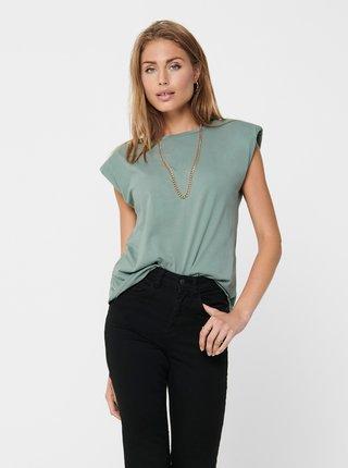 Zelené tričko ONLY Pernille